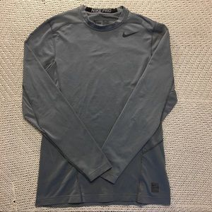 Nike Pro Dri-Fit long sleeve shirt grey